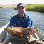 When Hebgen broke we found these trout on the Lower Madison river